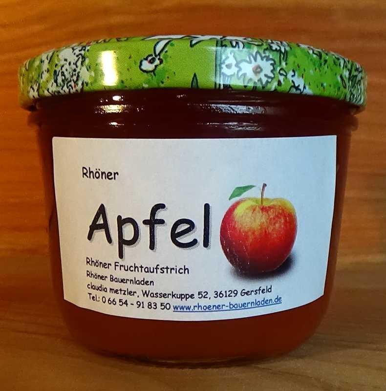 Rhöner Apfel-Fruchtaufstrich