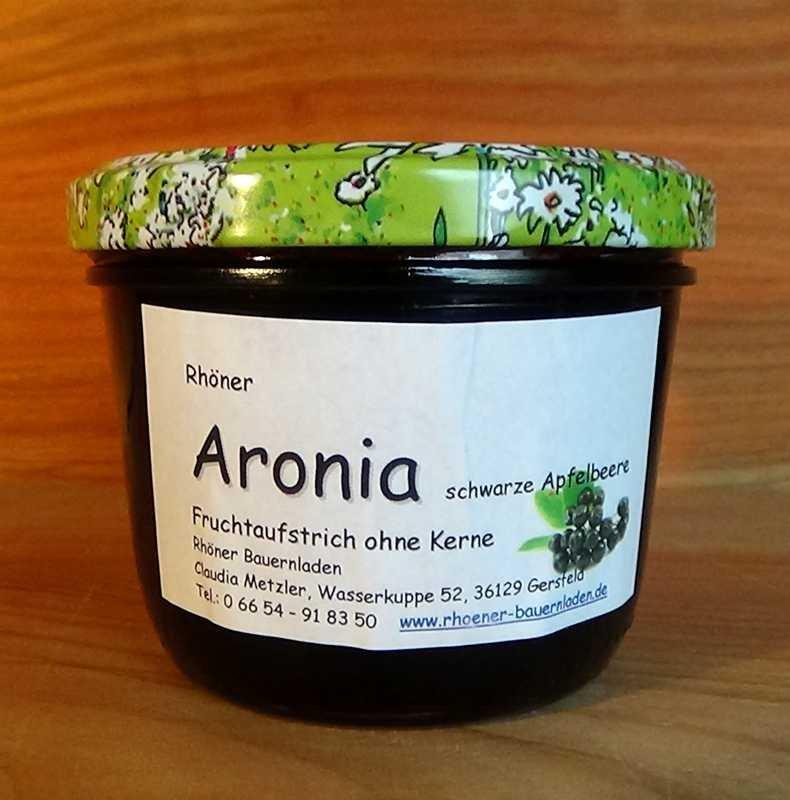 Rhöner Aronia-Fruchtaufstrich