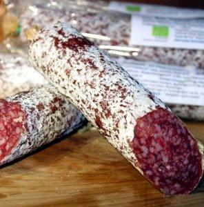 Rhöner Bio-Salami mit Edelschimmel