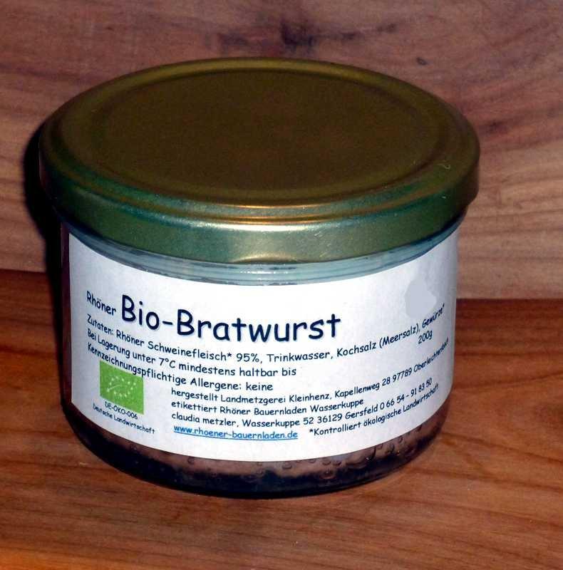 Rhöner  Bratwurst im Glas