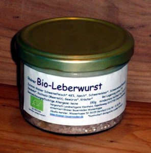 Rhöner Bio-Leberwurst