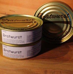 Rhöner Bratwurst in der Dose