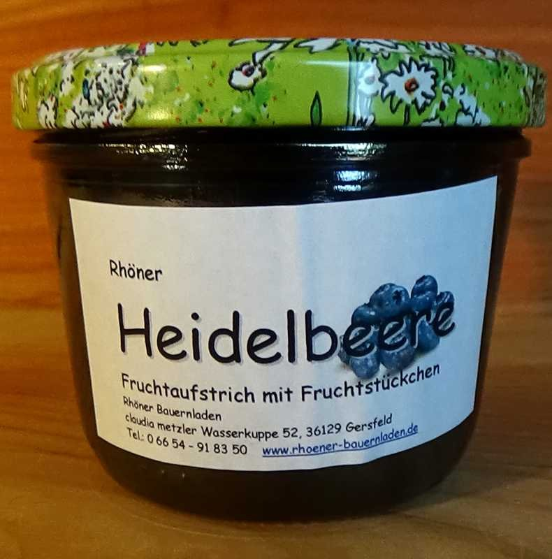 Rhöner Heidelbeere