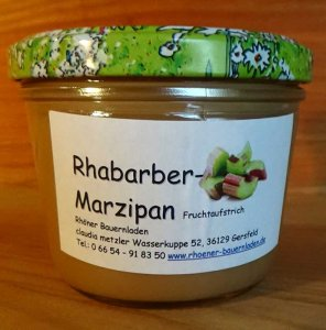 Rhöner Rhabarber Marzipan