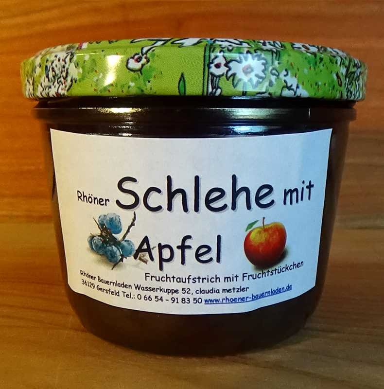 Rhöner Schlehe-Apfel