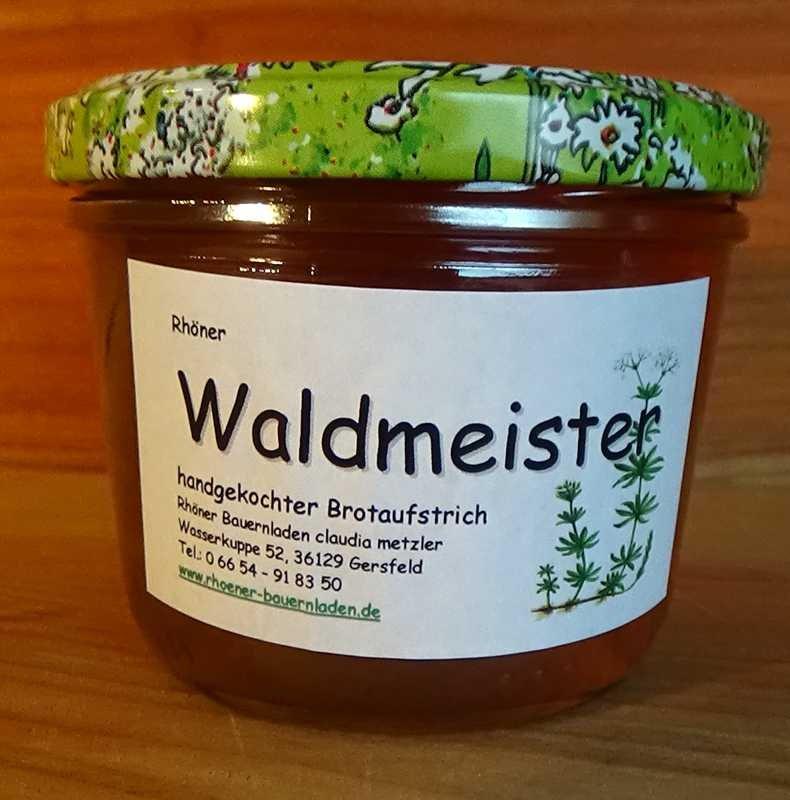 Rhöner Waldmeister Brotaufstrich