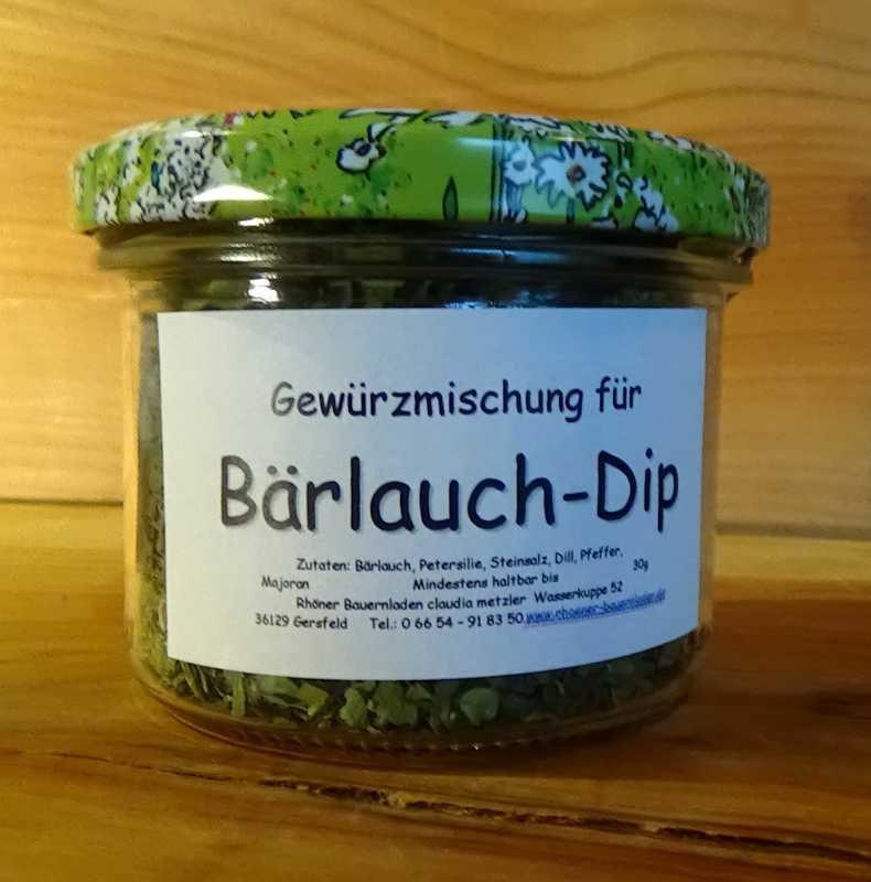 Bärlauch-Dip
