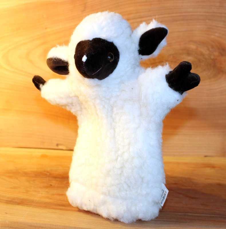 Schaf-Handpuppe