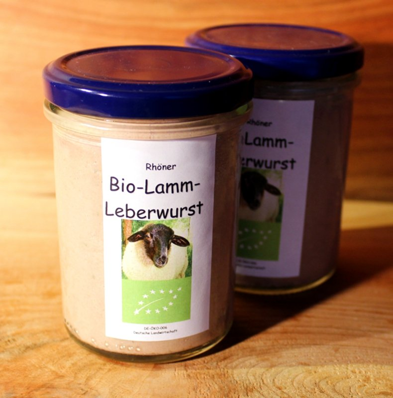 Rhöner Lammleberwurst